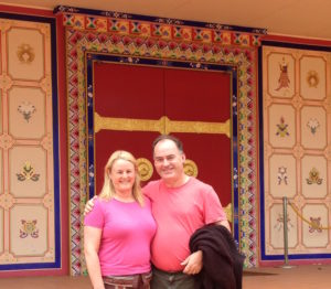 Nicholas and Susan Buddhist temple 2016